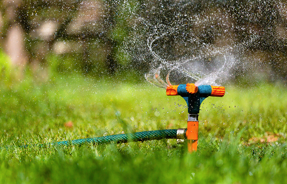 how to use automatic sprinkler system