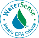 WaterSense - Meets Environmental Protection Agency (EPA) Criteria logo
